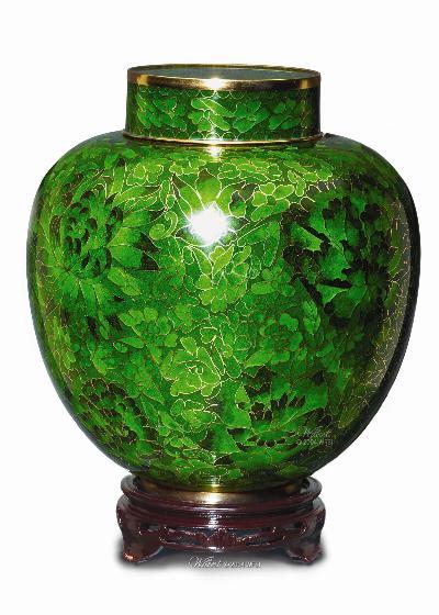 Cloisonne-Green
