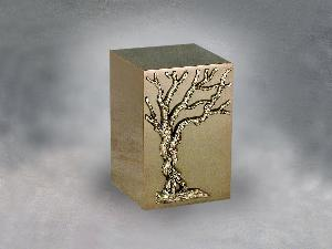 Halo Bronze Cube 35-808 Tree of Life