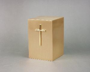 Halo Bronze Cube 35-857 Gold Plate Cross
