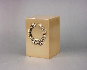 Halo Bronze Cube 35-858 Wreath_Bow
