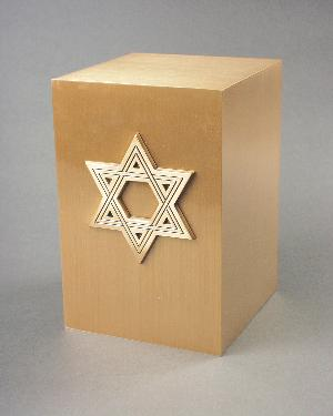 Halo Bronze Cube 35-884 Star of David