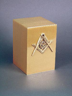 Halo Bronze Cube 35-890 Masonic