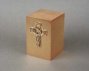 Halo Bronze Cube 35-903 Firemans Cross
