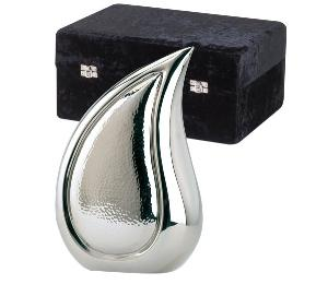 elegante brass teardrop bright silver